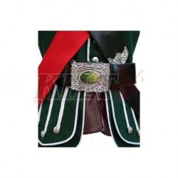 Green Pipe Band Doublet