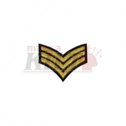 Sargeant Stripes Badge