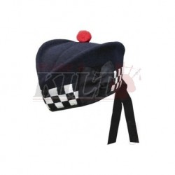 Police Band Navy Glengarry Hat