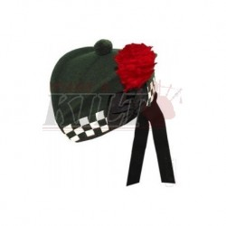 "Special Forces"" Green Glengarry Hat"