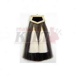 Real horse hair sporran
