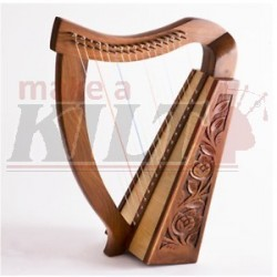 17 STRING HARP WITH FREE BAG & TUNING KEY