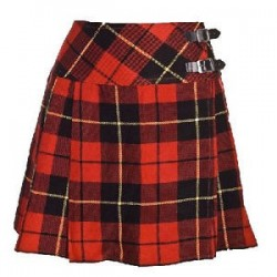 Scottish Highland Wear Wallace Tartan Cross Diagonal Belt Girls Billie New Kilts
