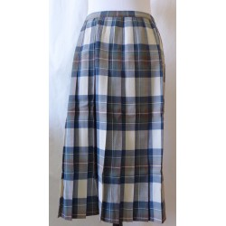 Aljean Wool Kilt Women's  14 Plaid Tartan Skirt