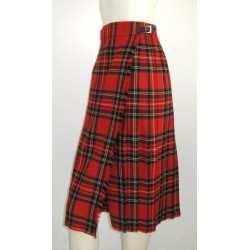 ROYAL STEWART HIGHLAND  LADIES SCOTTISH KILT