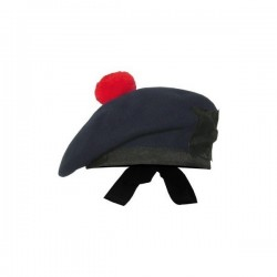 Navy Blue Balmoral Hat