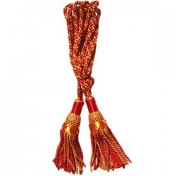 Gold / Red Silk Bagpipe Cord