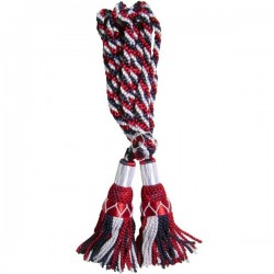 Red/White/Blue Silk Bagpipe Cord